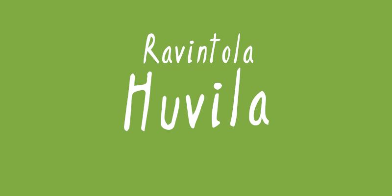logo Ravintola Huvila